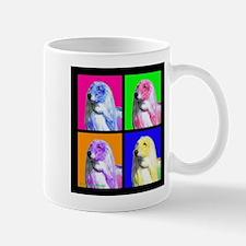 Afghan Hound Pup Art Mugs