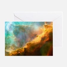 Omega / Swan Nebula Greeting Card