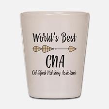 World's Best CNA Shot Glass