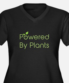 Powered By Plants Plus Size T-Shirt