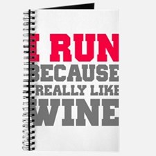 Funny Will run for wine Journal