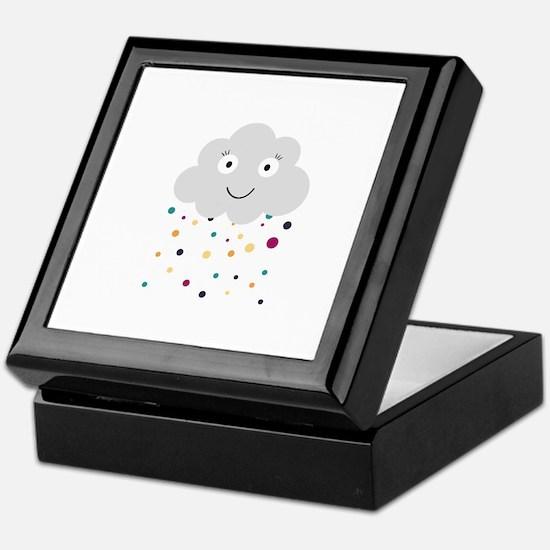 Confetti cloud Keepsake Box