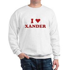 I LOVE XANDER Sweatshirt