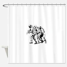 Police SWAT Team Shower Curtain