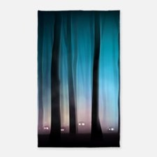 Spooky Forest Monsters Area Rug