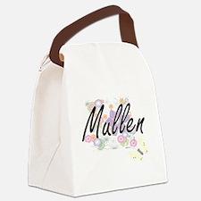 Mullen surname artistic design wi Canvas Lunch Bag