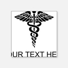 Medical Caduceus (Custom) Sticker