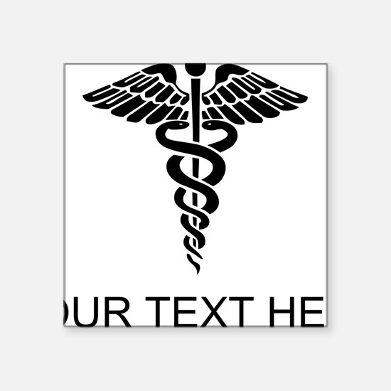 Medical Caduceus (Custom) Sticker