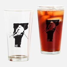 Ski Vermont Drinking Glass