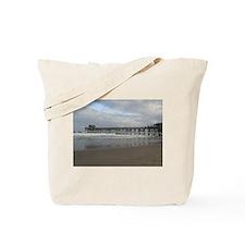 Pier Beach View Tote Bag