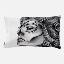 Dia De Los Muertos Drawing Pillow Case