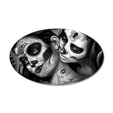 Dia De Los Muertos Wall Sticker