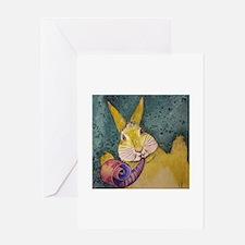 Celebrating Rabbit Greeting Cards