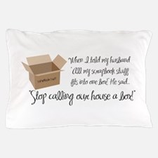 Scrapbook Box Pillow Case