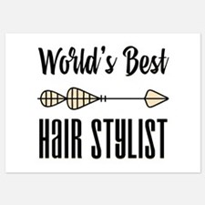 World's Best Hair Stylist 5x7 Flat Cards