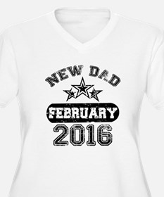 new dad february 2016 Plus Size T-Shirt