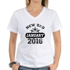 new dad january 2016 T-Shirt