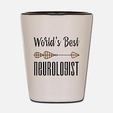 World's Best Neurologist Shot Glass