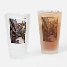 Old Quebec, Rue Sous Le Fort Drinking Glass