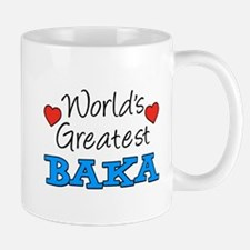 World's Greatest Baka Drinkware Mugs