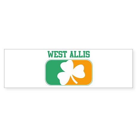 WEST ALLIS irish Bumper Sticker