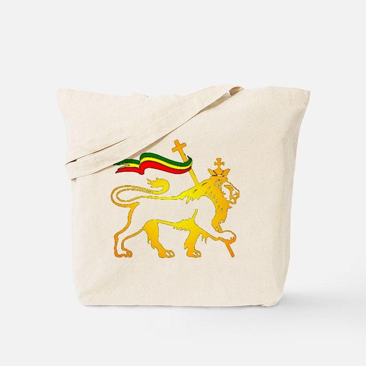 KING OF KINGZ LION Tote Bag