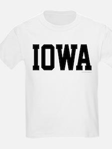 Iowa Jersey Font T-Shirt
