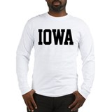 Iowa hawkeyes Long Sleeve T-shirts