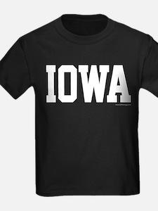 Iowa Jersey Font T