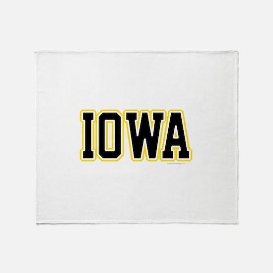Iowa Throw Blanket
