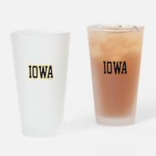 Iowa Drinking Glass