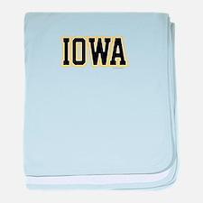 Iowa baby blanket