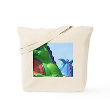Jolly Dragons Tote Bag