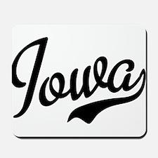 Iowa Script Font Mousepad