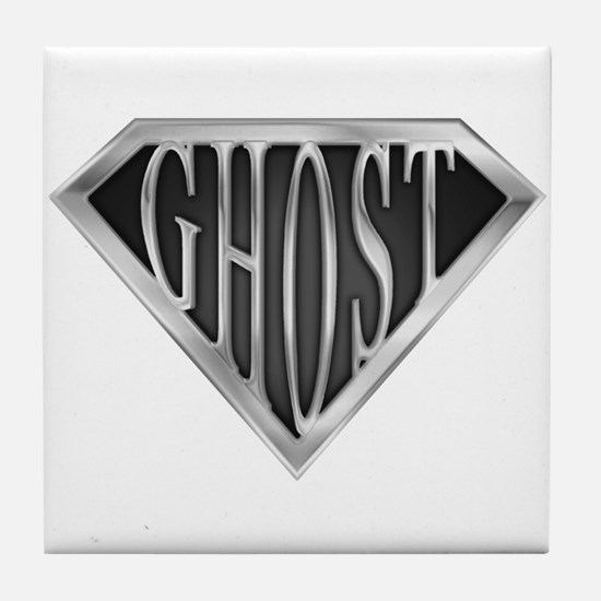 SuperGhost(metal) Tile Coaster
