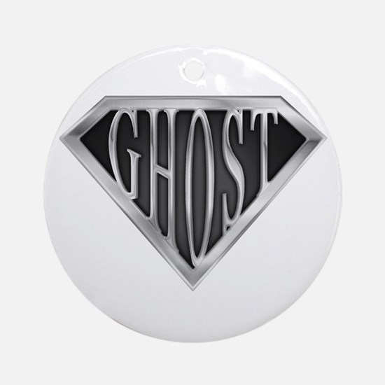 SuperGhost(metal) Ornament (Round)