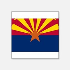 "Arizona Square Sticker 3"" x 3"""