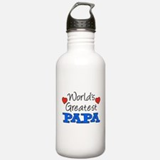 World's Greatest Papa Drinkware Water Bottle