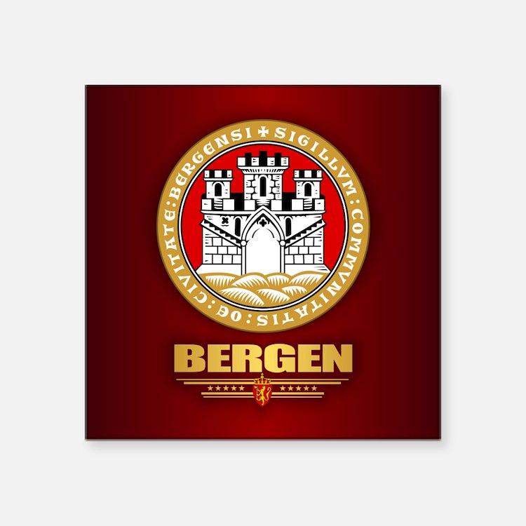 Bergen Sticker