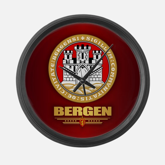 Bergen Large Wall Clock