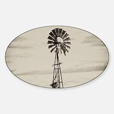 Iowa Farm Windmill Decal