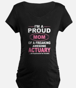 i'm a proud mom of a freaking awesome actuary Mate