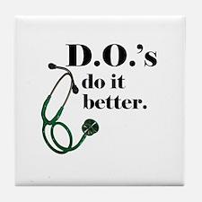 Unique Doctor Tile Coaster