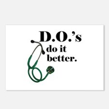 Cute Osteopathic Postcards (Package of 8)