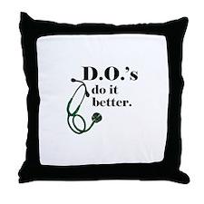 Unique Medical school Throw Pillow