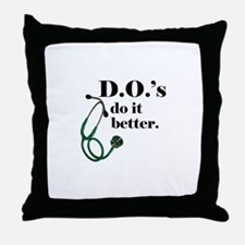 Cute Medical school Throw Pillow