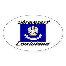 Shreveport Louisiana Oval Decal