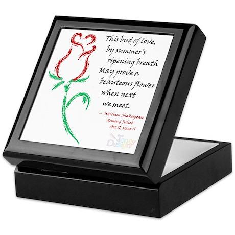 Budding Love Keepsake Box