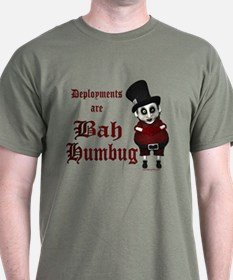 Deployments Are Bah Humbug T-Shirt