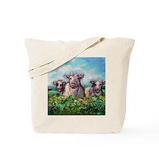 Cute Cow design Tote Bag